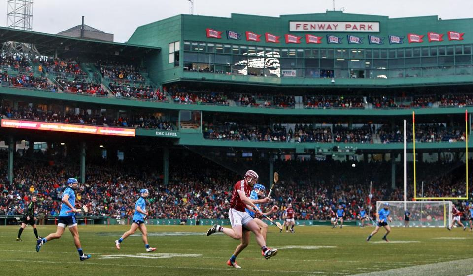 More than 27,000 people attended Sunday's Fenway Hurling Classic & Irish Fesitval at the historic ballpark.