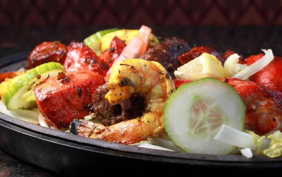 The Tandoori Mixed Grill Entree Is A Por Item At Zaika Indian Bistro In Woburn