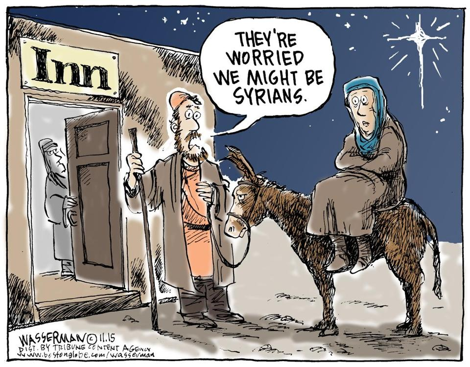 Image result for no room at the inn cartoon