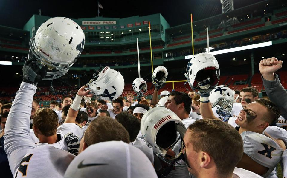Four High School Football Games Will Be Played At Fenway Park