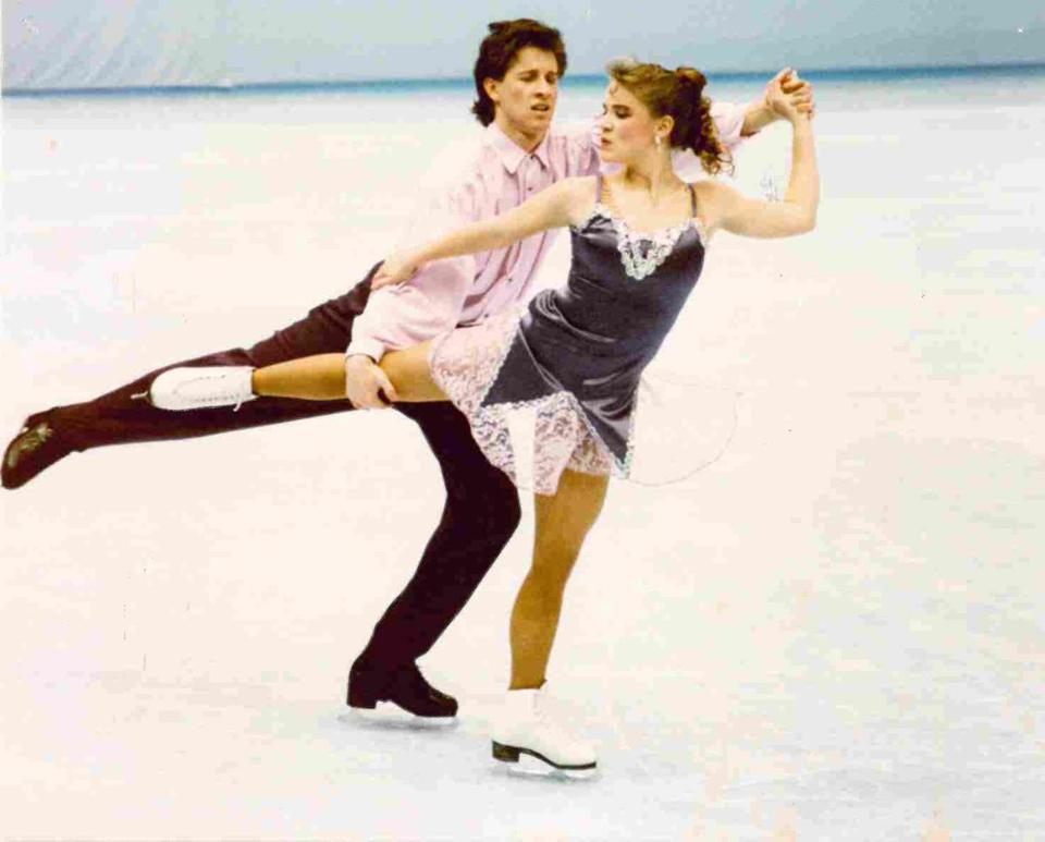 Garrett Swasey and partner Christine Fowler 1992 US Championships in Orlando