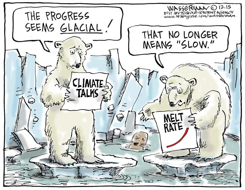 Image result for cartoons on trump and climate change