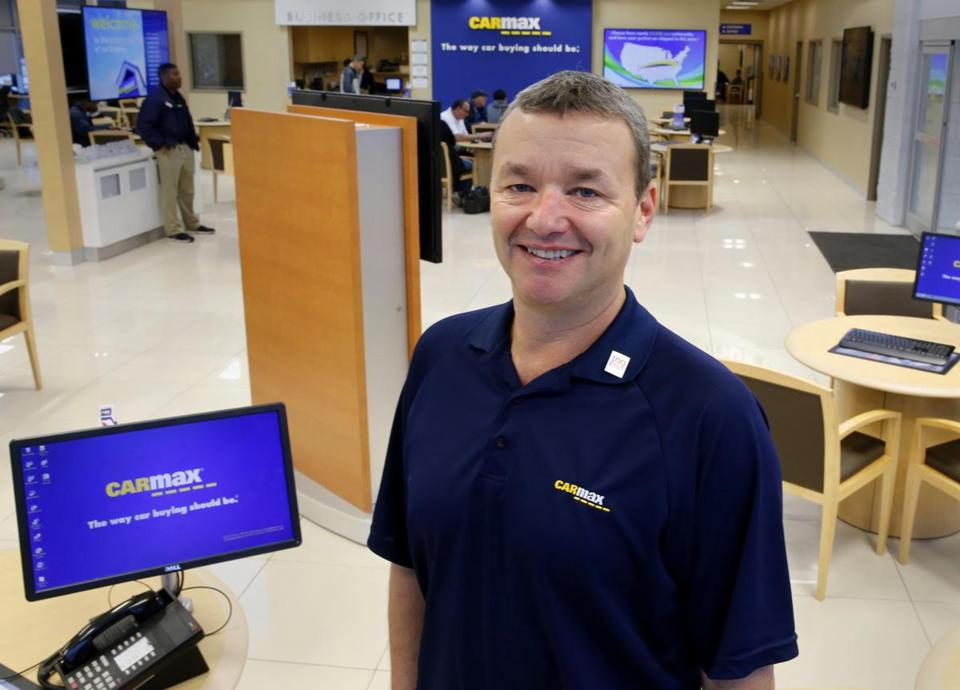 Carmax Ceo Tom Folliard Shown At The Original Outlet In Richmond Could Soon