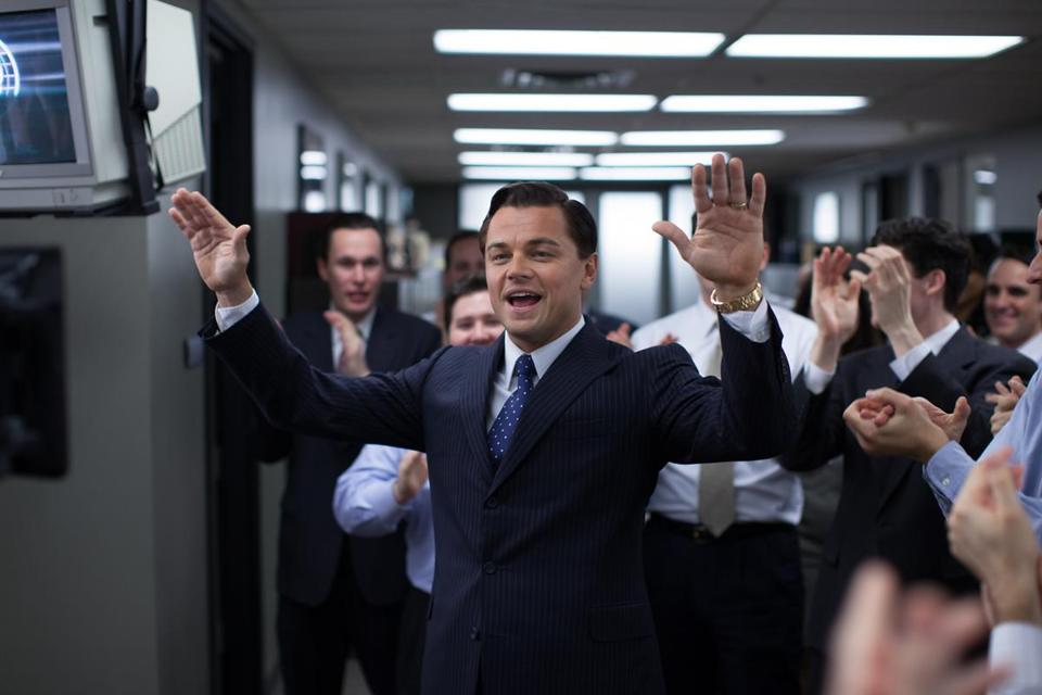 Leonardo DiCaprio is Jordan Belfort in the 2013 film THE WOLF OF WALL STREET, directed by Martin Scorsese, from Paramount Pictures and Red Granite Pictures. TWOWS-07897R