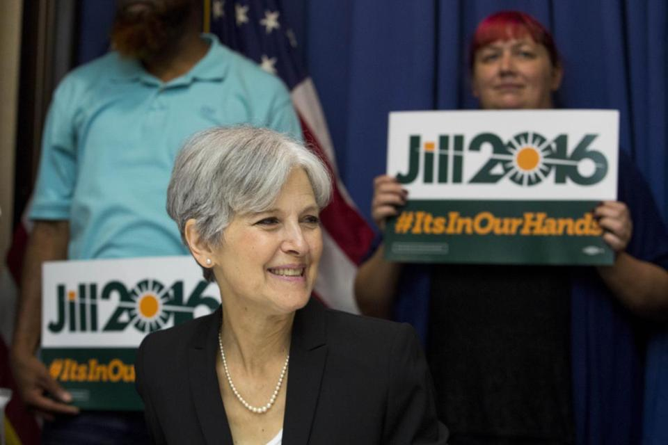 Jill Stein is from the Green Party.