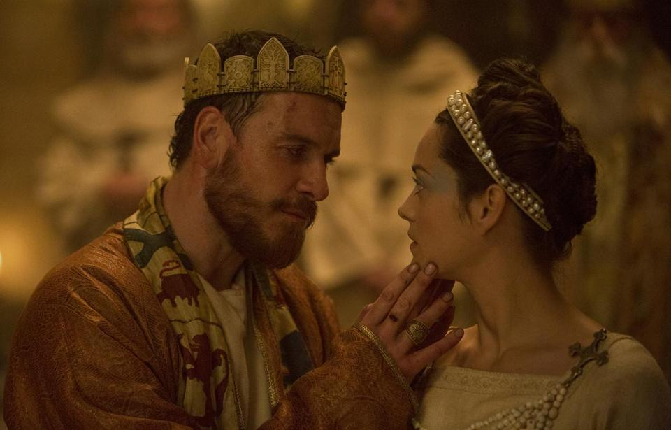 "Michael Fassbender played the title role and Marion Cotillard played Lady Macbeth in the 2015 film ""Macbeth."""
