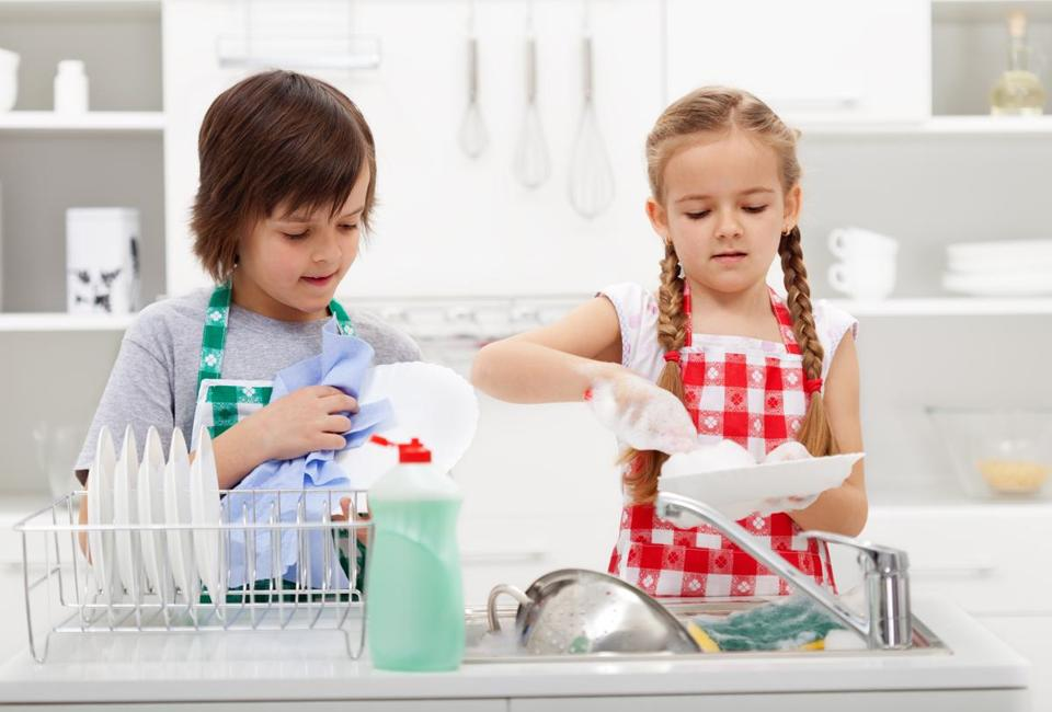 Just 28 percent of parents said they regularly assign chores to their kids, even though 82 percent said they grew up doing chores themselves.