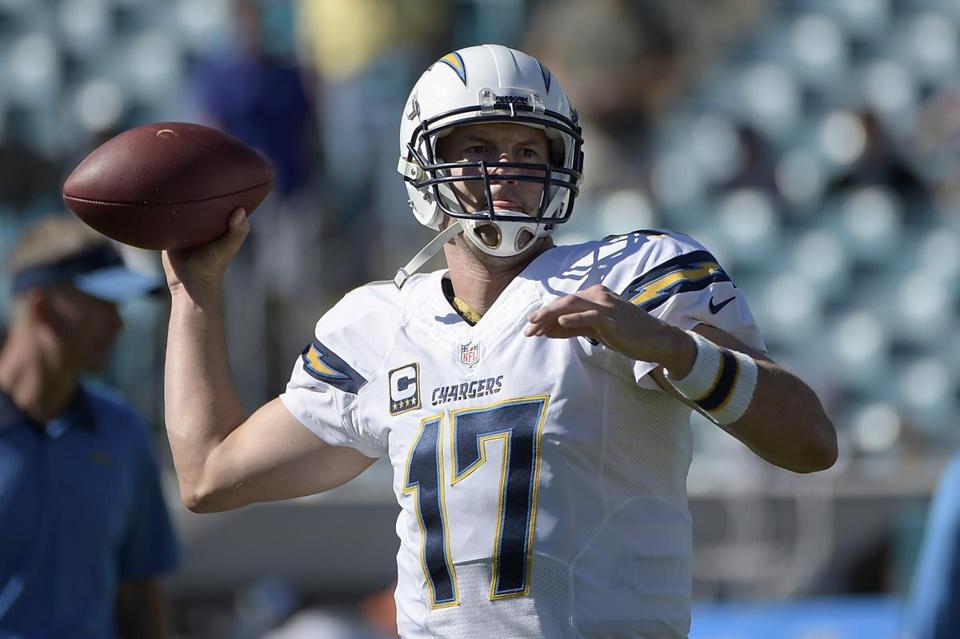 Chargers quarterback Philip Rivers crossed the 40,000-yard milestone in a win at Jacksonville.