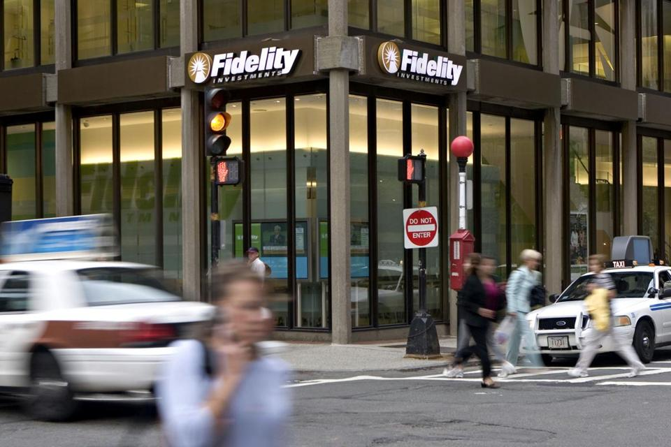 A Fidelity Investments office in Boston.