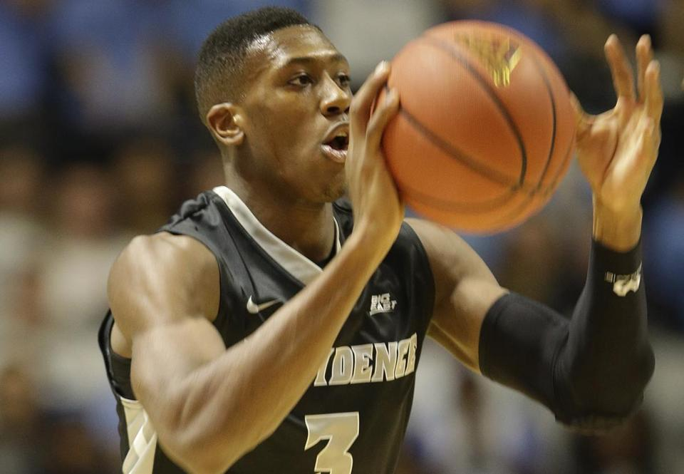 Providence point guard Kris Dunn is averaging 18.2 points and 7.3 assists this season.