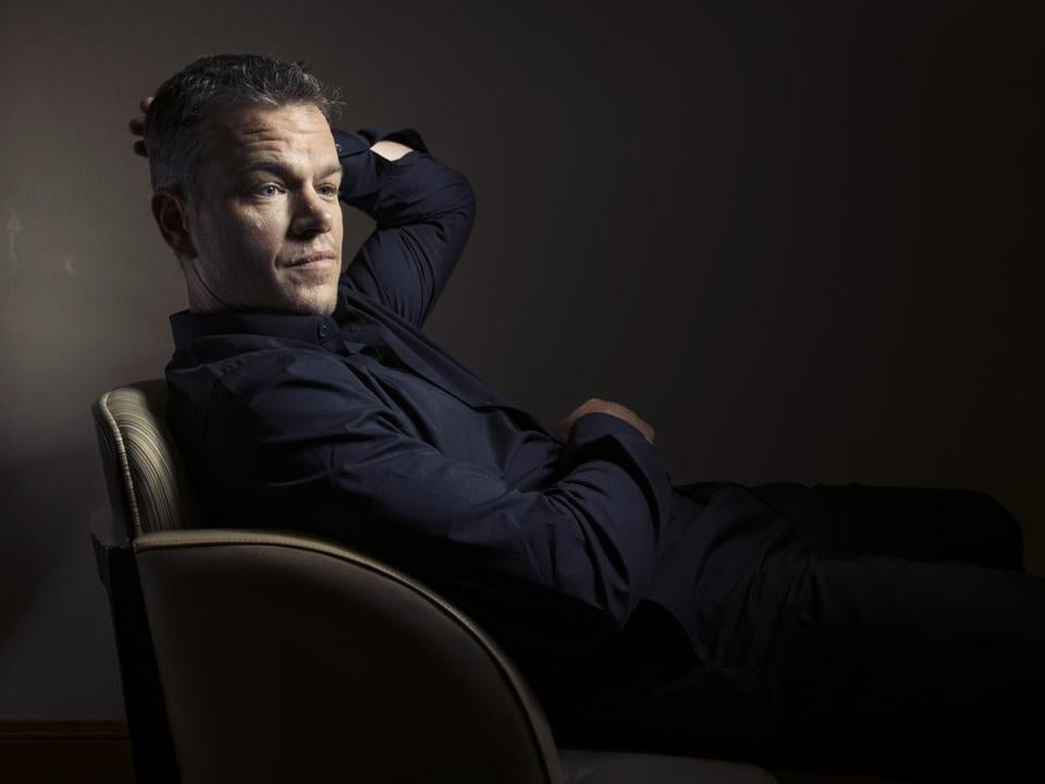 """It's quite an honor to be the commencement speaker at a school that I couldn't have gotten into,"" Matt Damon told the school."