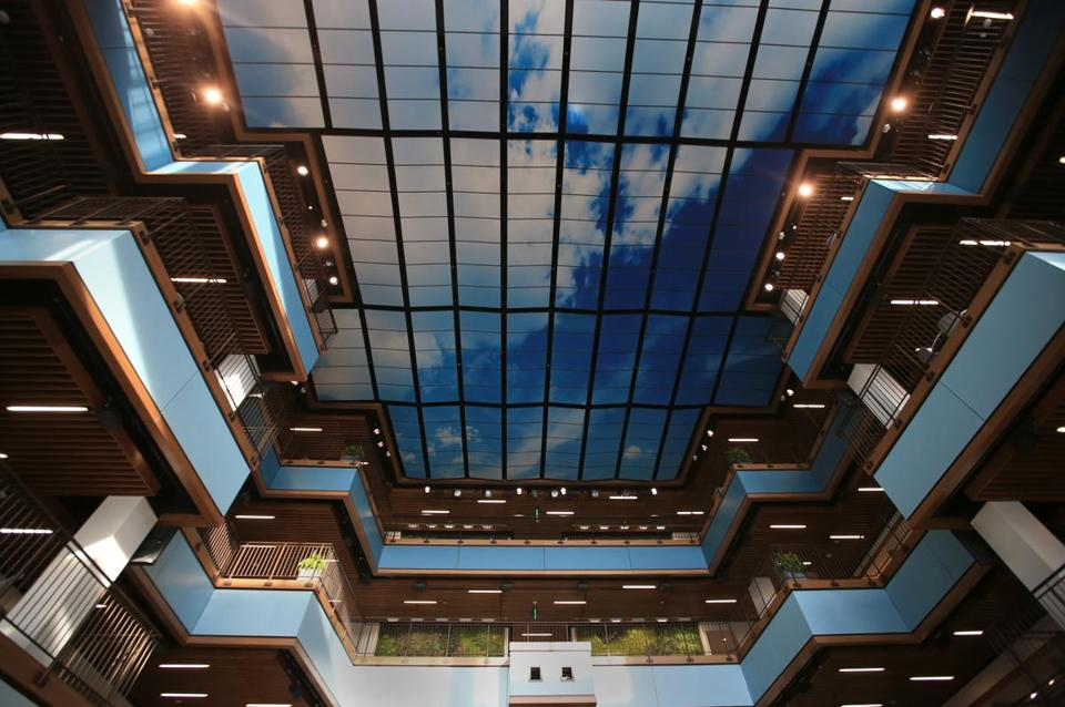 Auralization helps rescue buildings designed for looks but not the challenge at tripadvisor was making a soaring atrium full of hard surfaces easy on the malvernweather Choice Image