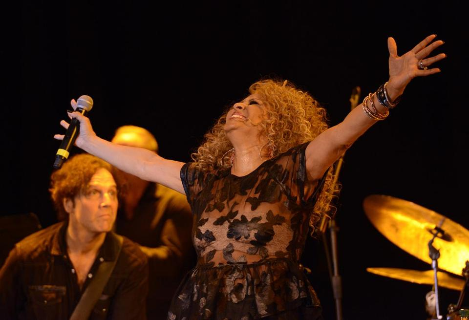 Darlene Love performed at the Cabot in Beverly on Sunday.
