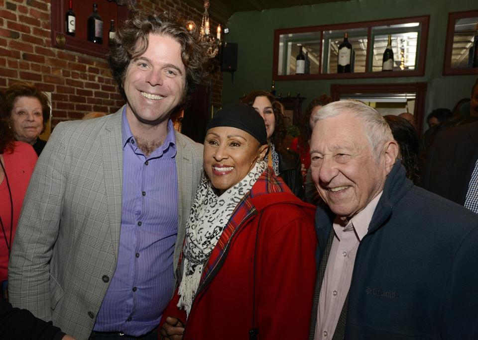 From left: J. Casey Soward, Darlene Love, and Fred Taylor after the concert.