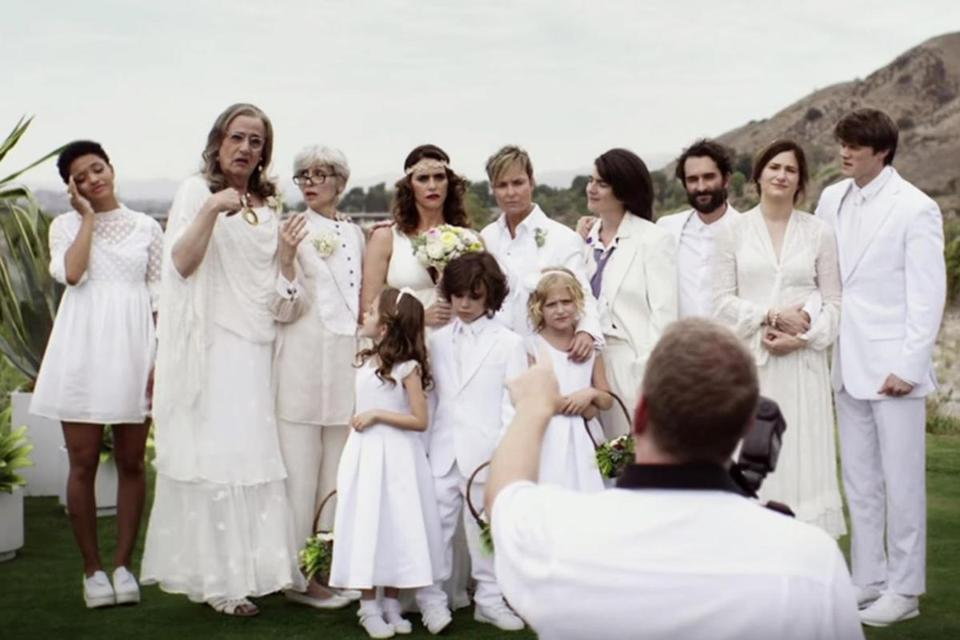 "The cast of ""Transparent"" on Amazon."