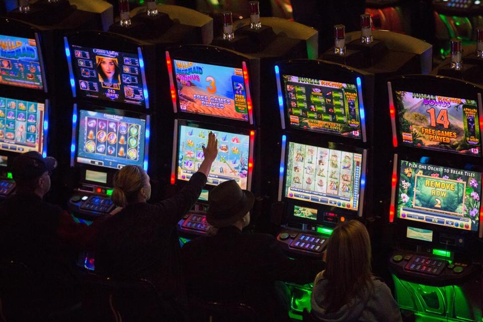 Slot machines massachusetts is online gambling illegal in nj