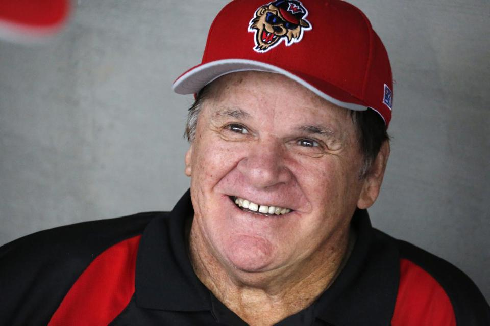 Pete rose is banned from baseball after gambling allegations casinos in grantville