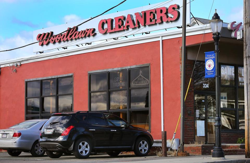 Senator Brian Joyce used Woodlawn dry cleaners in Randolph for a decade.