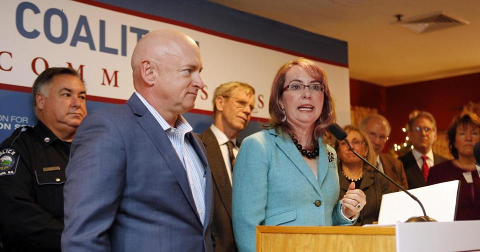 Retired astronaut Mark Kelly, husband of former Congresswoman Gabrielle Giffords, to run for John McCain's Senate seat.
