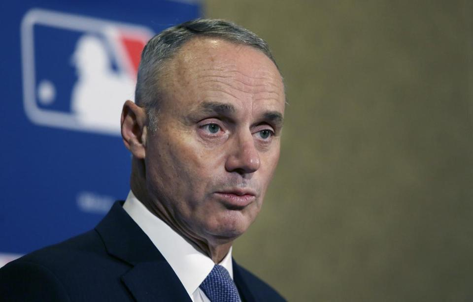 Commissioner Rob Manfred is on the record for being against reducing the number of games in the regular season because there'd be too many lost gates.