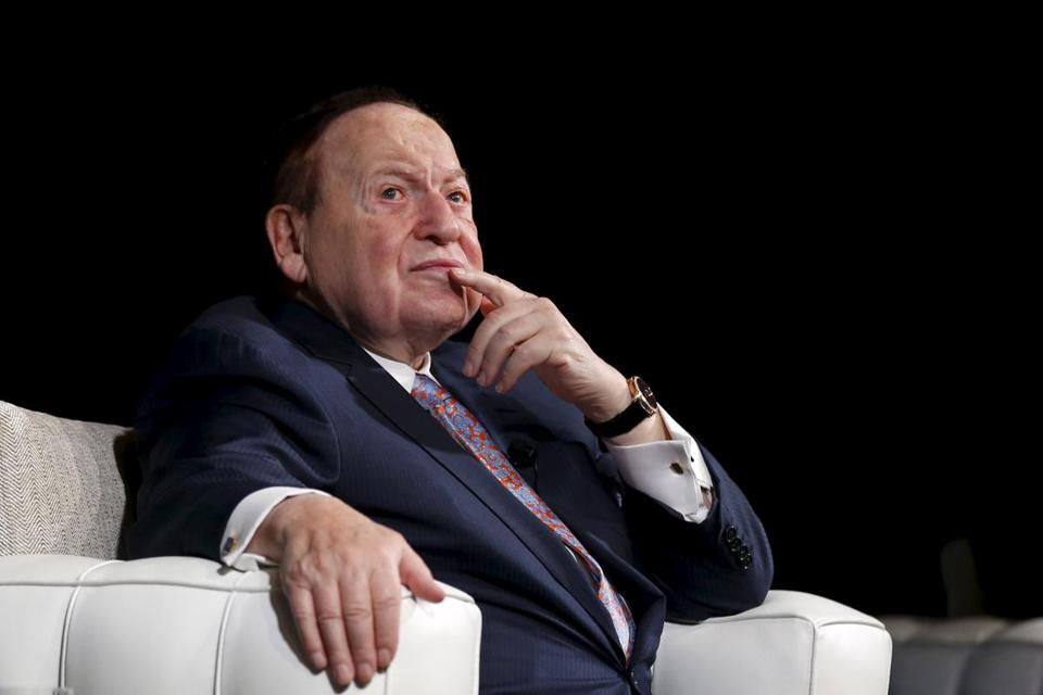Sheldon Adelson, the new Las Vegas Review-Journal owner.
