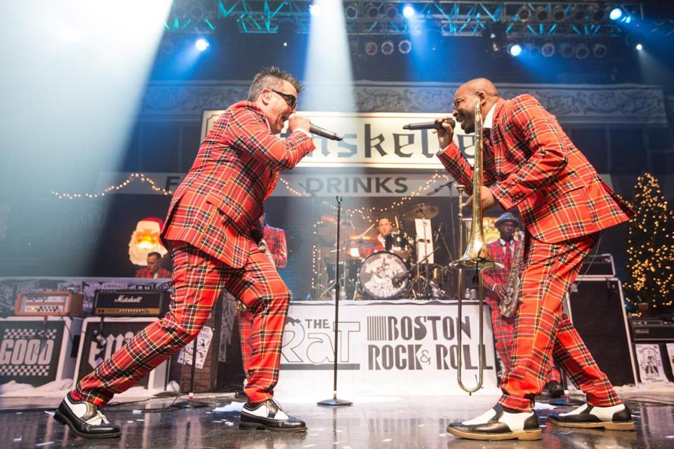 The Mighty Mighty Bosstones (pictured in 2015) play Hometown Throwdown shows Friday and Saturday at the House of Blues.