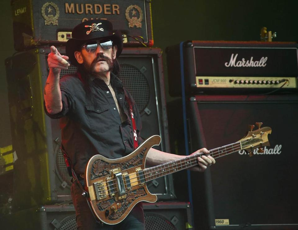 Mr Kilmister Was The Only Constant Member Of Motorhead Which Released 22 Studio Als