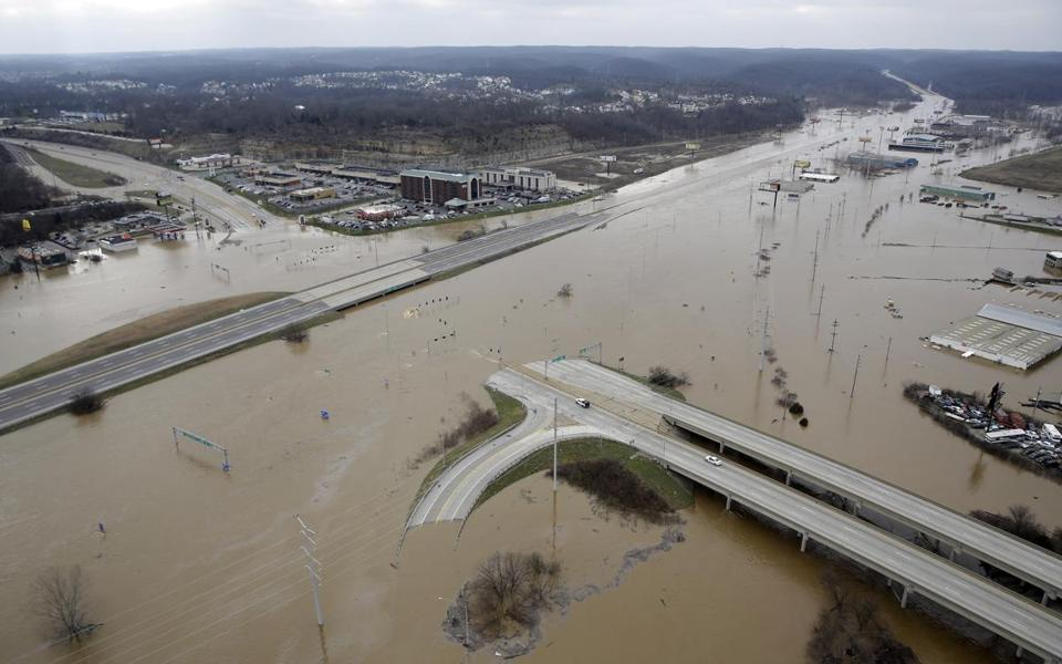 Rescue Crews Assist With Evacuations In Midwest Flooding