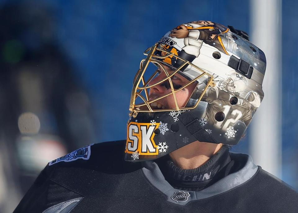 Tuukka Rask unveils special goalie mask for Winter Classic - The ... 80cb20c8b
