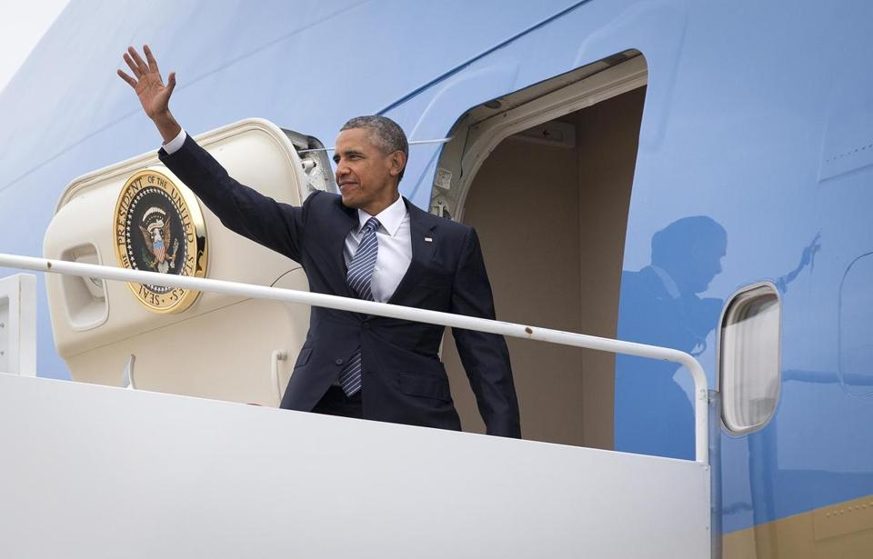 with his domestic agenda stalled president obama will make more use of air force one air force 1 office