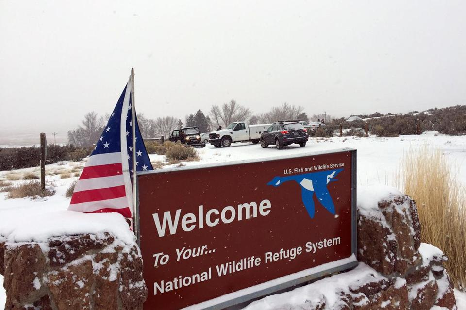 Armed protesters are occupying a building at the Malheur National Wildlife Refuge.