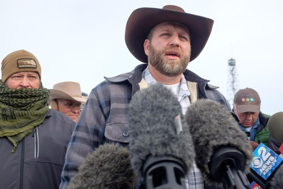 Ammon Bundy is leading an armed occupation of the Malheur National Wildlife Refuge headquarters near Burns, Ore.