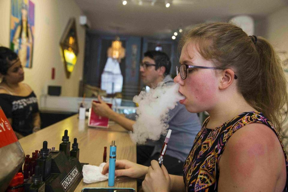 """Unfettered marketing of e-cigarettes has the potential to compromise decades of progress,'' said Brian King, a CDC expert on smoking issues."