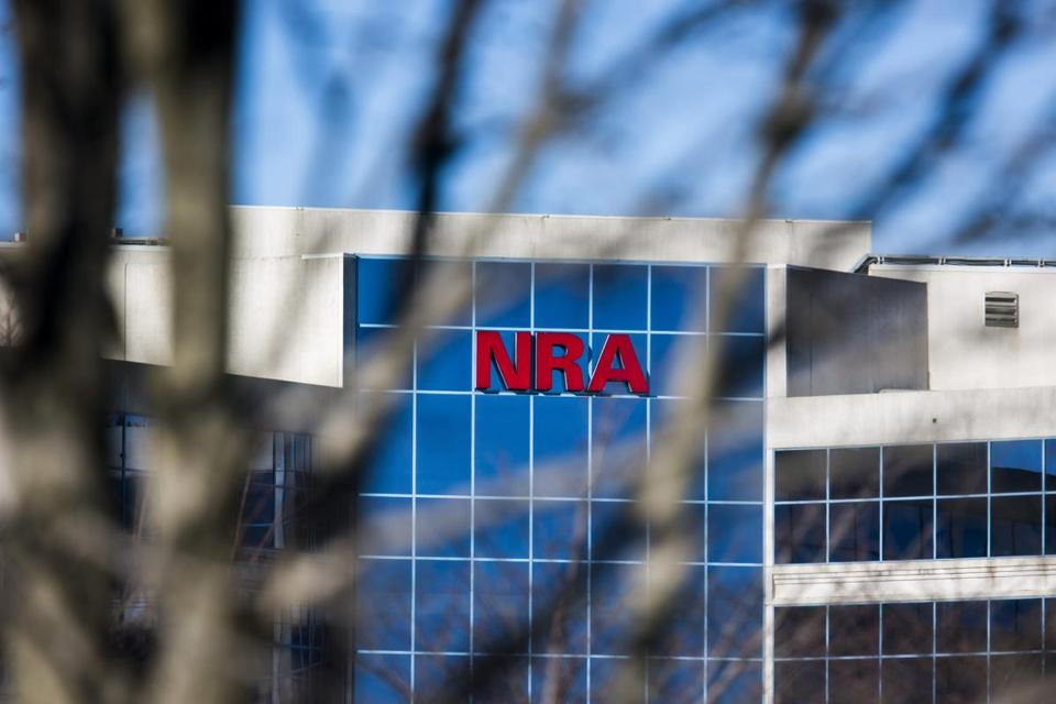 The headquarters of the National Rifle Association (NRA) in Fairfax, Va.