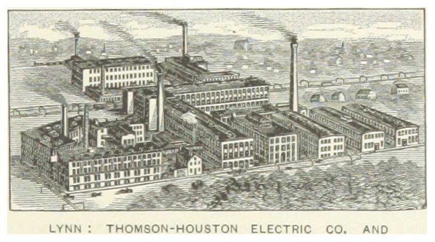 Thomson-Houston Electric Co. in Lynn.