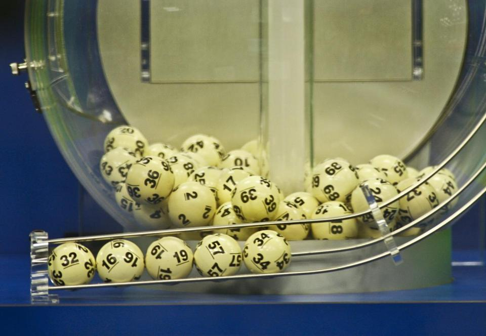 Powerball draw machine
