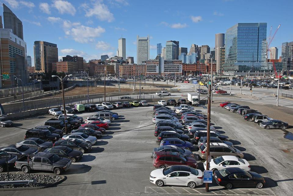 A parcel near the World Trade Center Silver Line Station may be one of the sites that GE would consider.