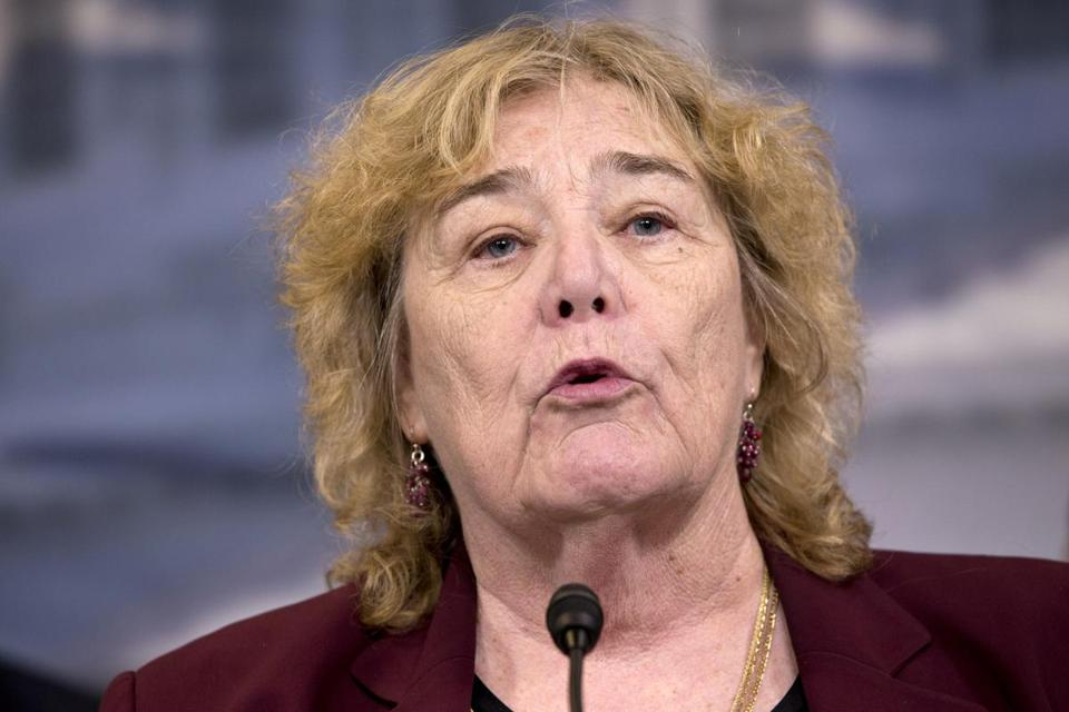 """Having people afraid to open their doors to strangers, not going to work, etc., is not a healthy development,"" Representative Zoe Lofgren, a California Democrat, said Tuesday."