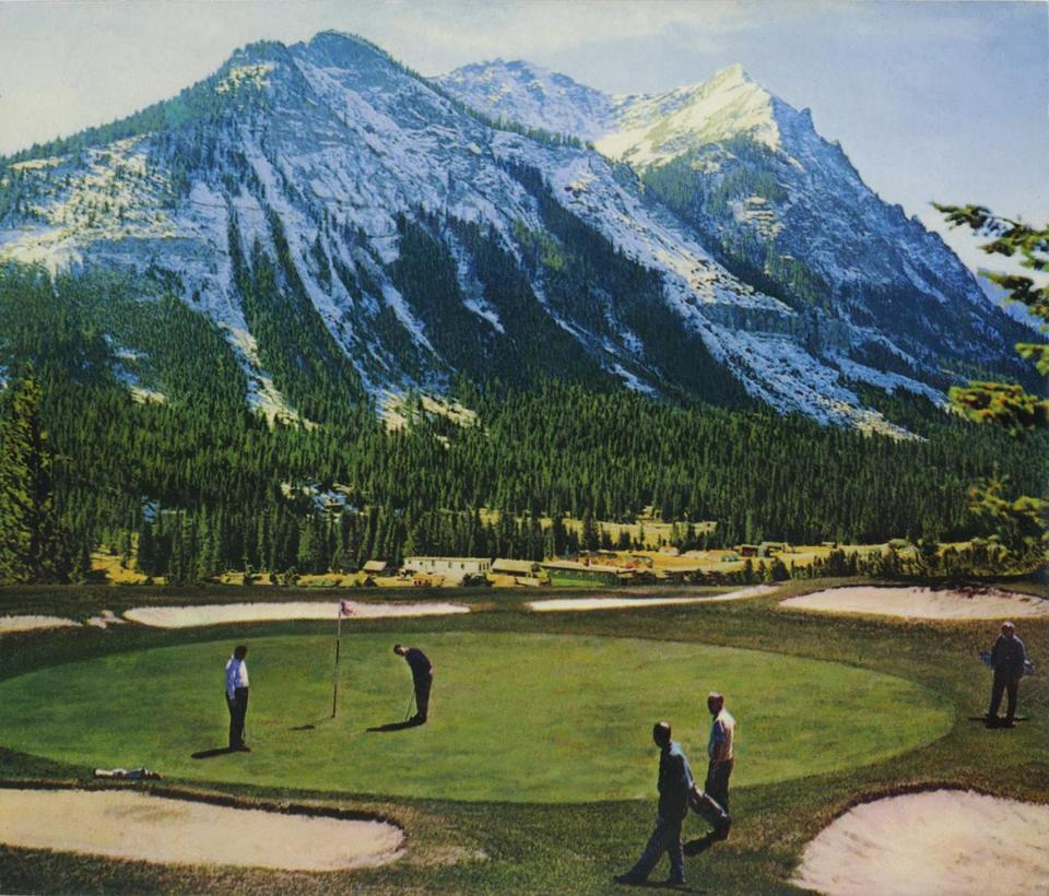 "Ron Weis's ""Wish You Were Here (golf course)."""