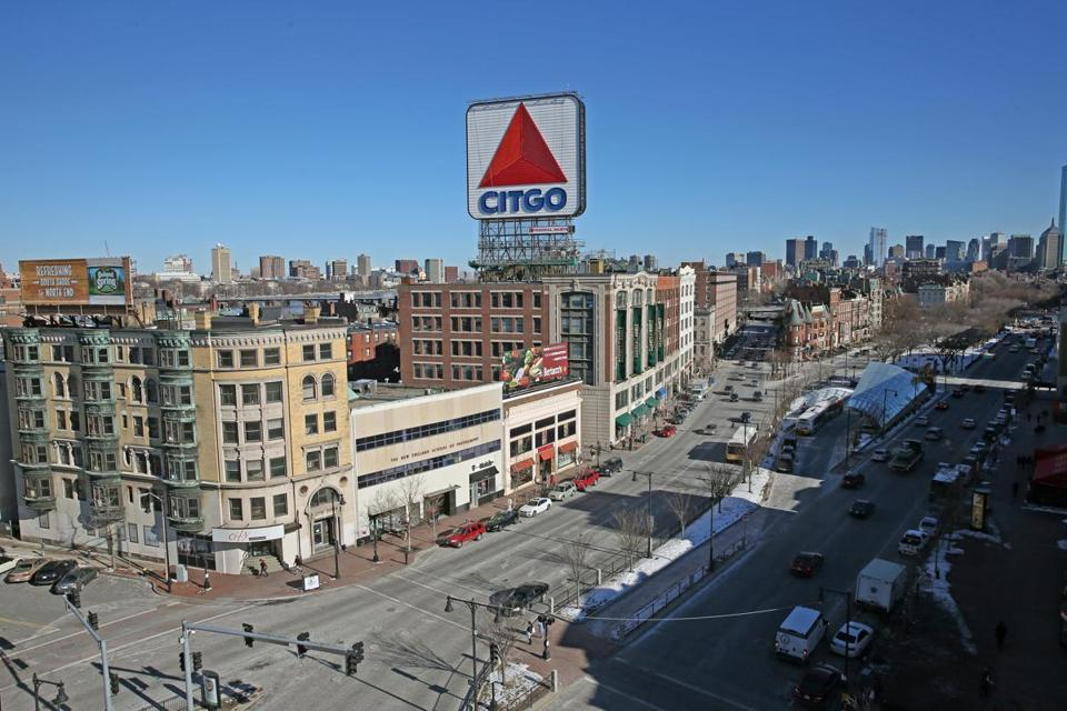 The iconic Citgo sign in Kenmore Square is for sale.