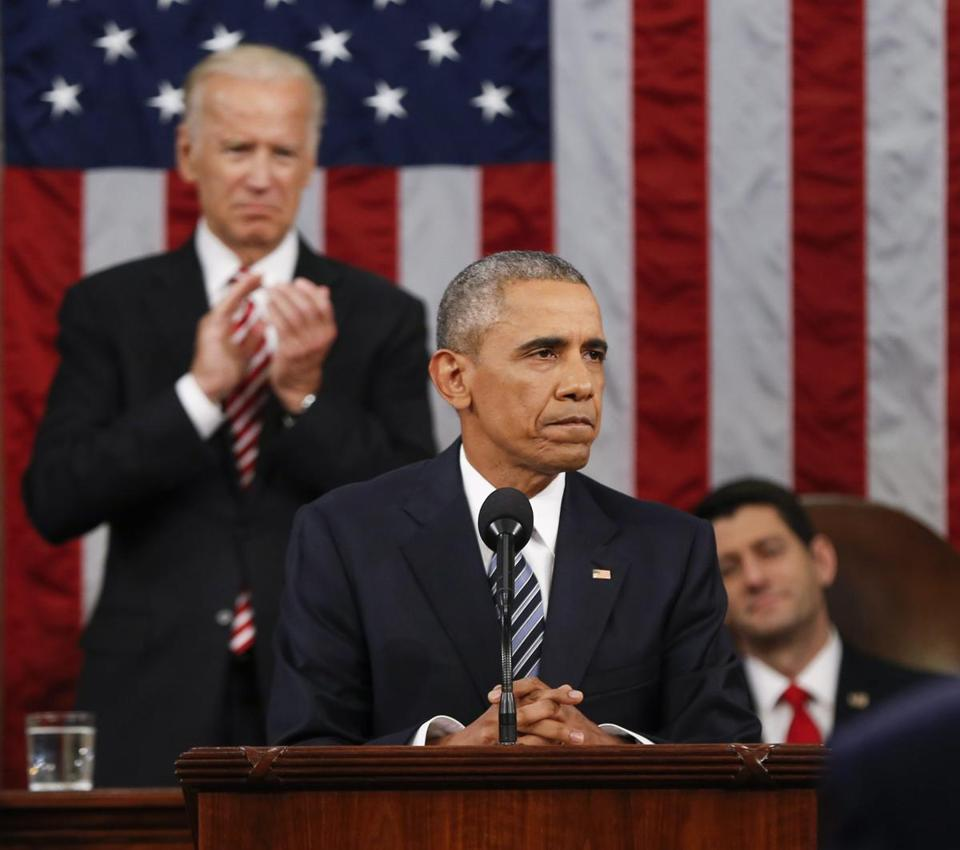 At the State of Union address, President Obama said he regretted that the division between the parties had worsened.