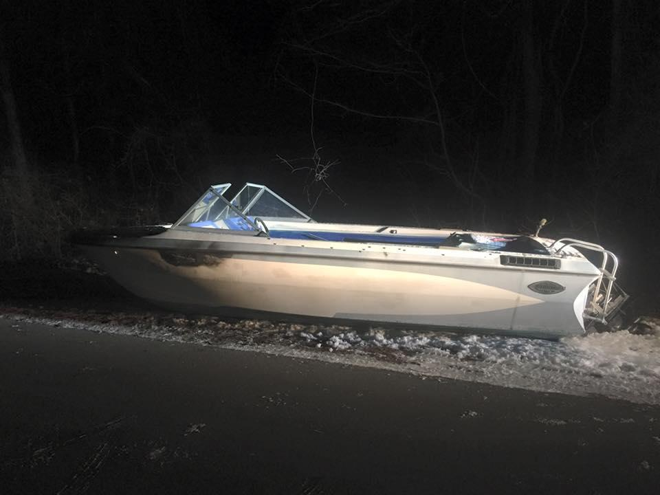 The search is on for the owner of this boat.