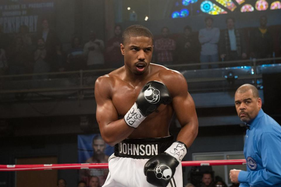 "Michael B. Jordan in ""Creed."""