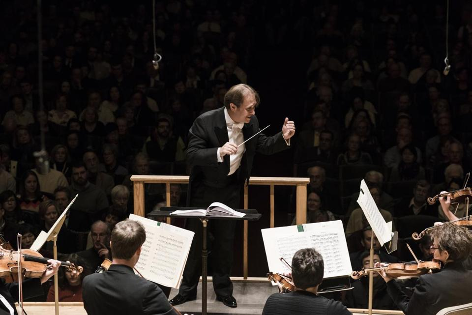 Ludovic Morlot conducts the Boston Symphony Orchestra on Thursday.