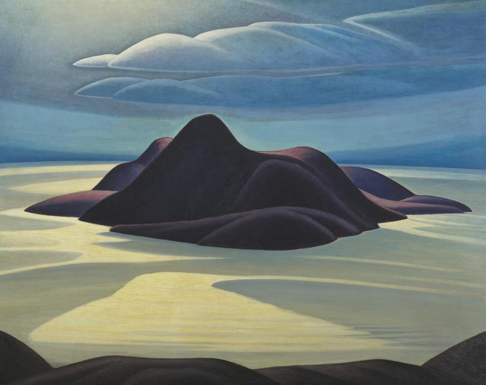 Pic Island Lawren Harris (Canadian, 1885�1970) About 1924 Oil on canvas *McMichael Canadian Art Collection, Gift of Colonel R.S. McLaughlin *Image courtesy of McMichael Canadian Art Collection *© Family of Lawren S. Harris *Courtesy Museum of Fine Arts, Boston 31winterartpicks The Idea of North: The Paintings of Lawren Harris March 12 - June 12, 2016. Museum of Fine Arts Boston