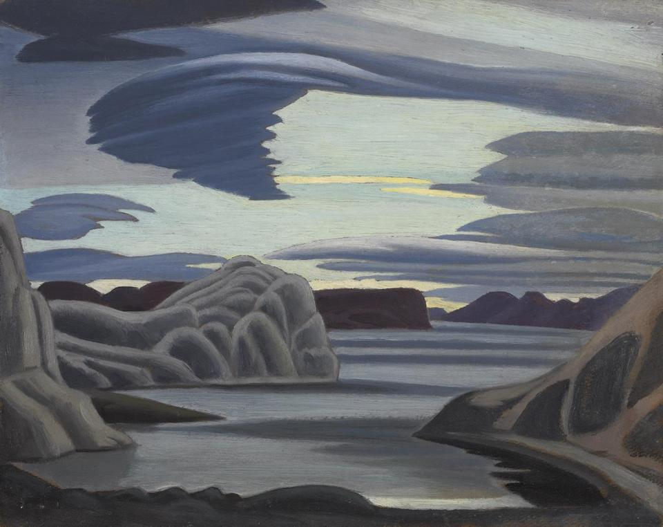 Lake Harbour, South Shore, Baffin Island, Morning Lawren Harris (Canadian, 1885�1970) 1930 Oil on beaverboard * National Gallery of Canada, Ottawa. Purchased 1945. *Photo © NGC *© Family Lawren S. Harris *Courtesy Museum of Fine Arts, Boston 31winterartpicks The Idea of North: The Paintings of Lawren Harris March 12 - June 12, 2016. Museum of Fine Arts Boston