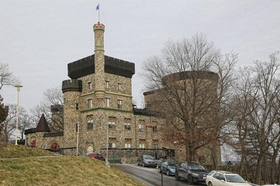 Brandeis officials contend that it is cost-prohibitive to save more of Usen Castle.
