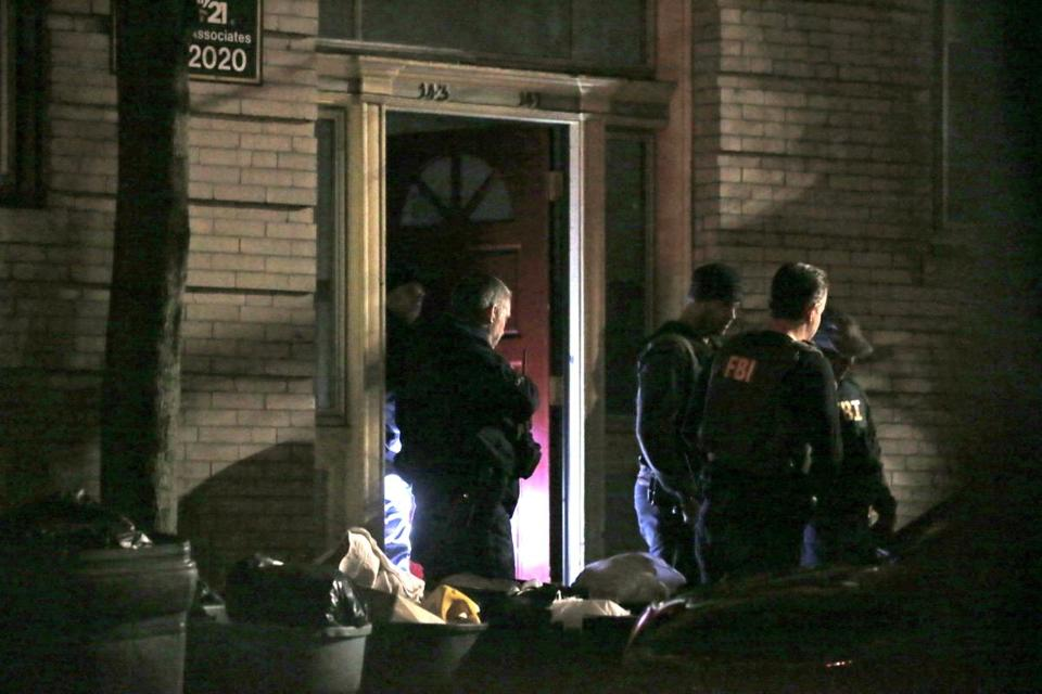In January, FBI and others conducted a raid in Chelsea.