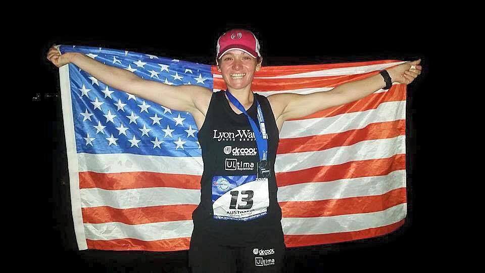 Becca Pizzi, 35, of Belmont has completed 45 marathons.