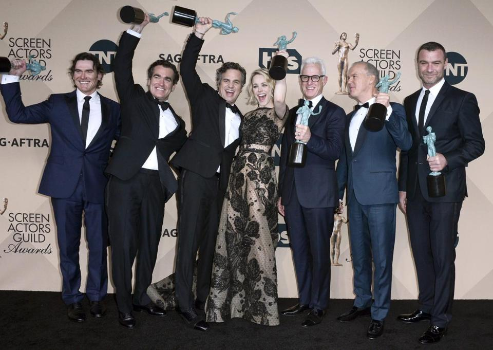 'Spotlight' wins best film cast SAG Award - The Boston Globe